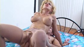 that cunning milf knows a lot of sex moves and she will show them