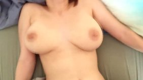 Redheaded girlfriend Amadani enjoys hard oral